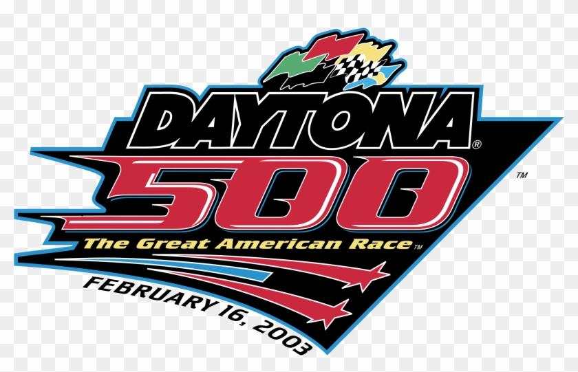 Daytona 500 Logo Png Transparent Daytona 500 Clipart 4464182 Pikpng