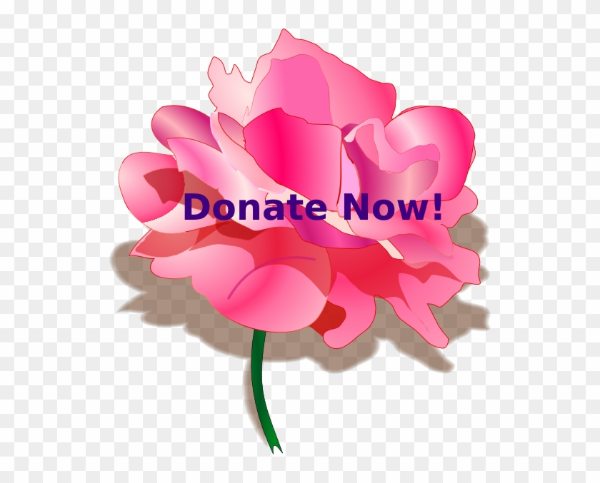 How To Set Use Donate Button Svg Vector - Rose Clip Art - Png Download #4471072
