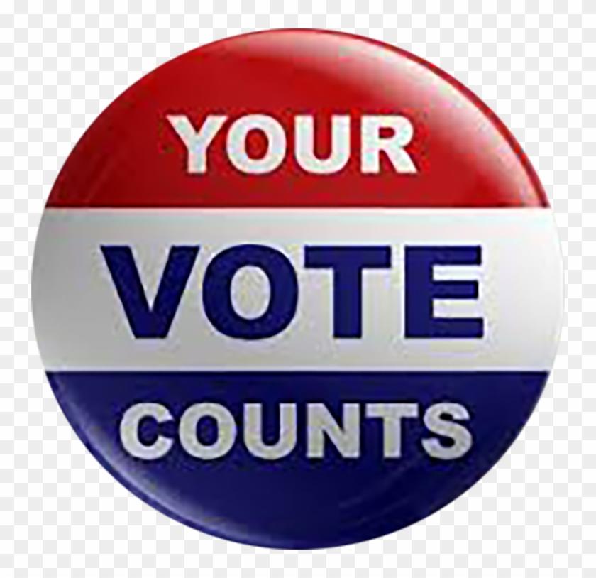 Yourvotecounts - Your Vote Counts Clipart #4471278