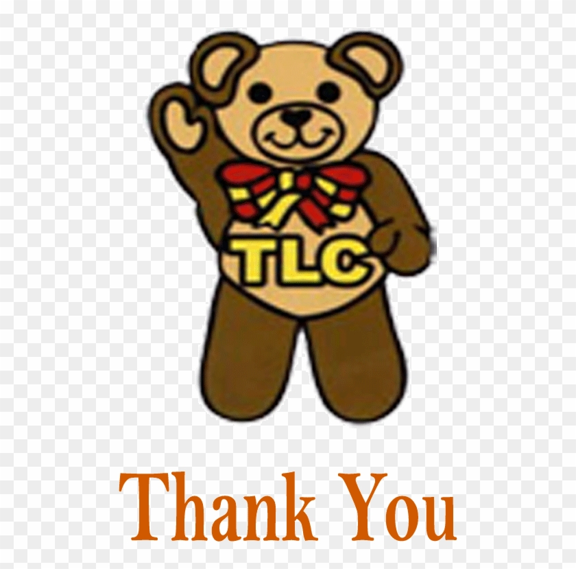Thank You For Donating To Tlc - Animated Tlc Teddy Clipart #4471337