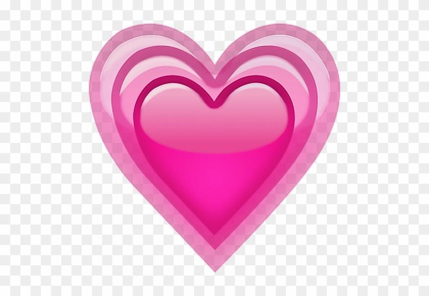 Heart Emoji Cute Tumblr Corazon 💖 - Meaning Growing Pink Heart Emojis Clipart #4484535