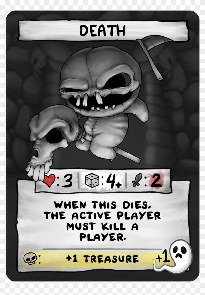 Edmund Mcmillen On Twitter - Binding Of Isaac Four Souls The Lamb Clipart #4487048