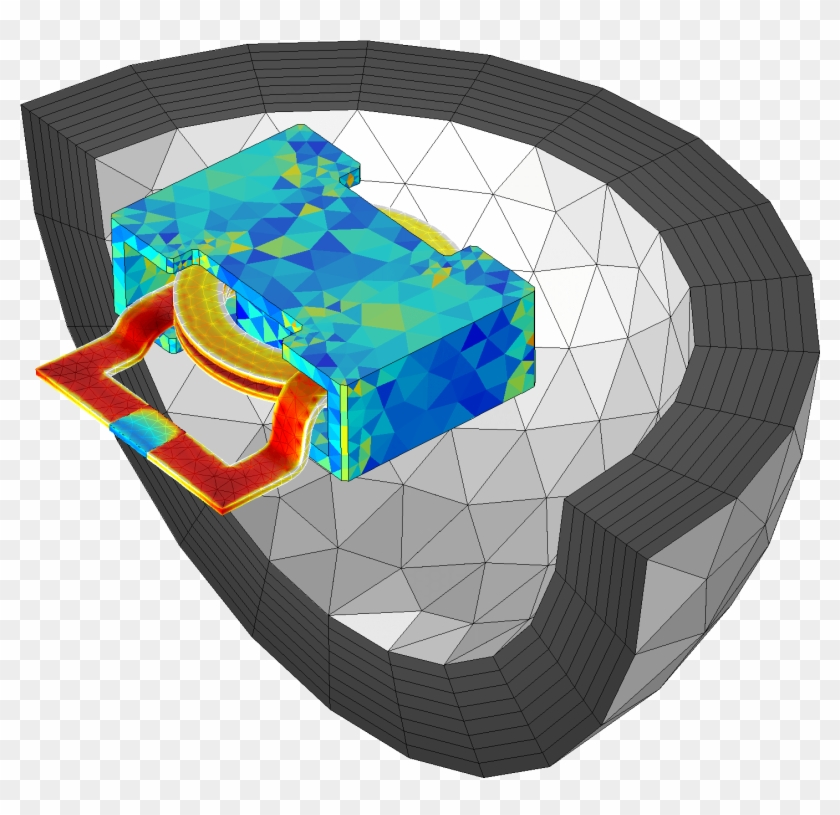 Automated Meshing For Infinite Elements - Graphic Design Clipart #4487484