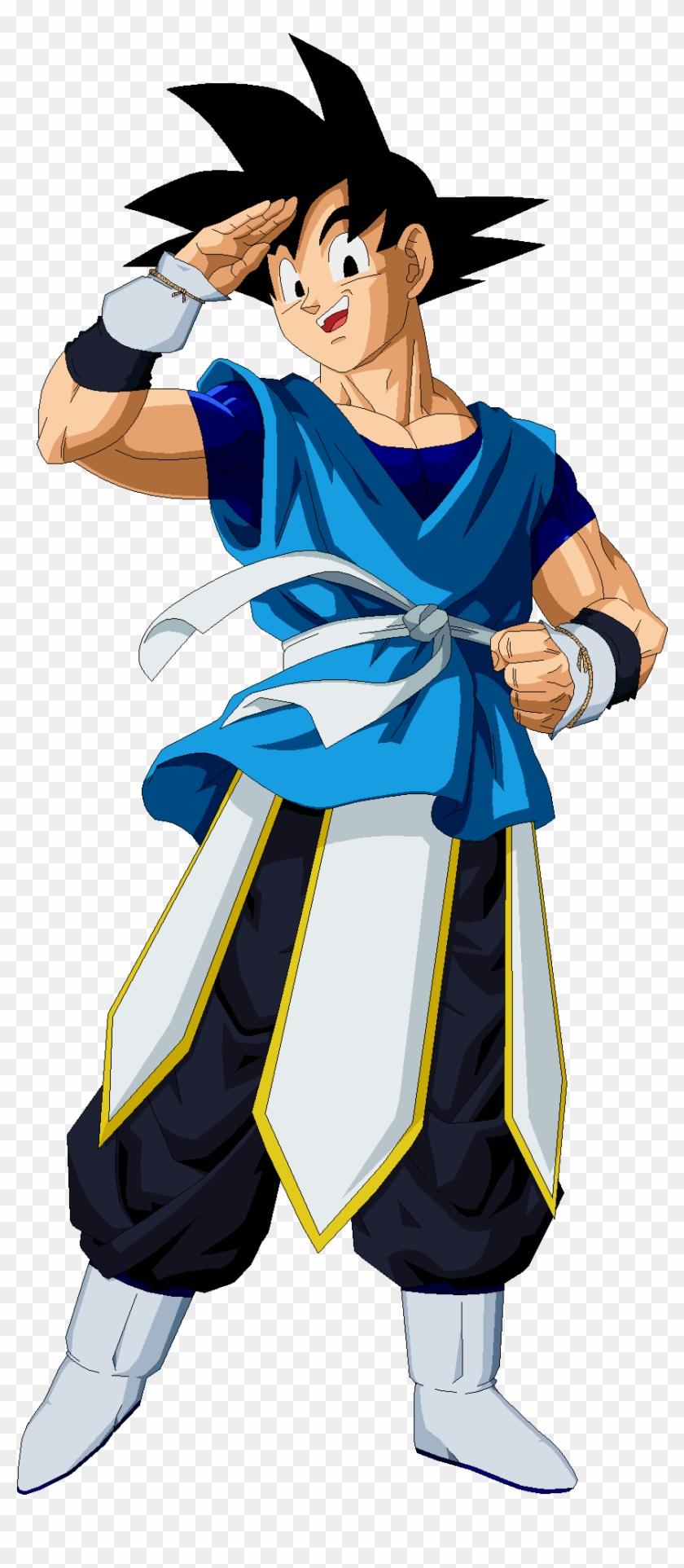 Goku - Goku Con Ropa De Dios Clipart #4488236