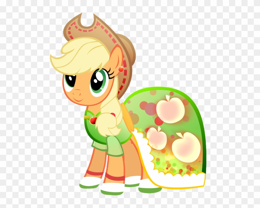 My Little Pony Applejack Dress Png Download My Little Pony Applejack Dress Clipart 4488439 Pikpng