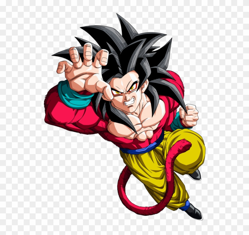 Goku Ssj4 - Dragon Ball Gt Clipart #4488567