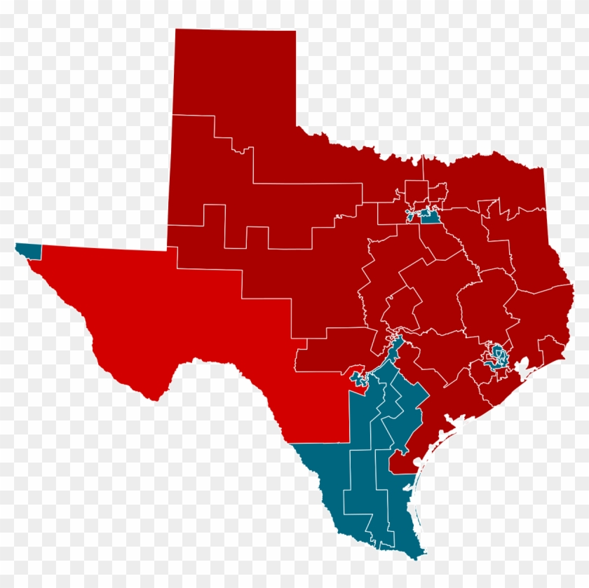 2014 United States House Of Representatives Elections - Texas Presidential Election Results 2016 Clipart #4493525