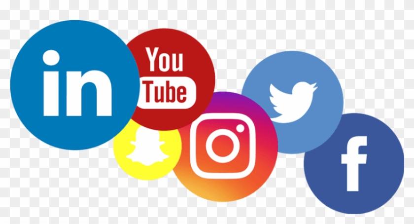 Free Png Download Social Media Logos Png Images Background - Social Media Logo Transparent Clipart #450162