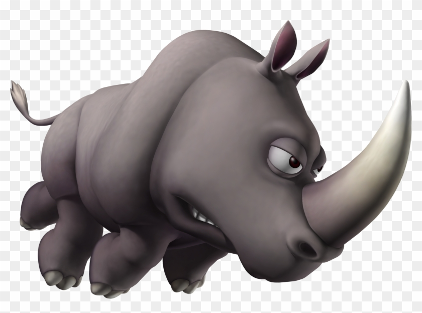 Donkey Kong - Donkey Kong Tropical Freeze Rhino Clipart@pikpng.com