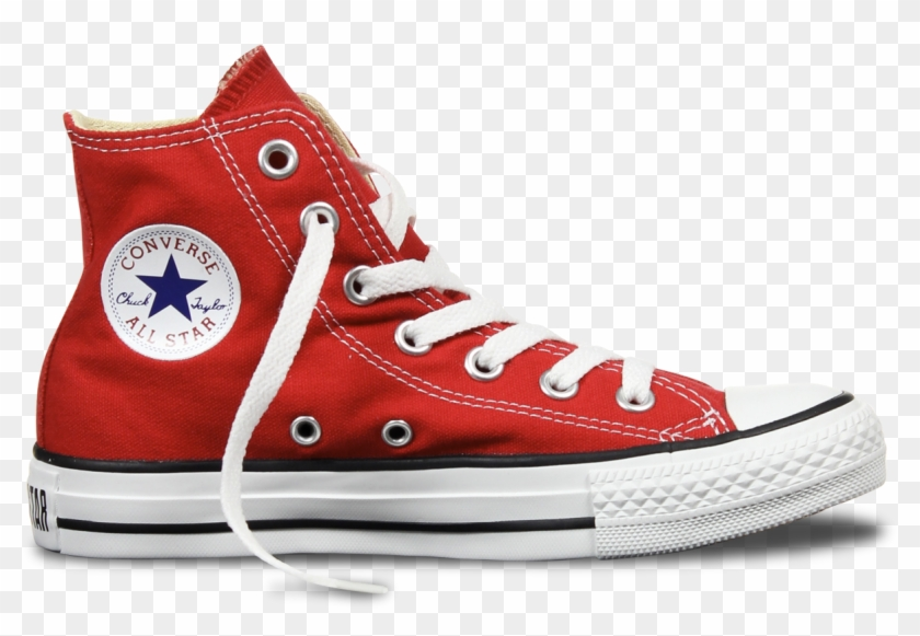 Chuck Taylor Png - All Star Converse Png Clipart #455451