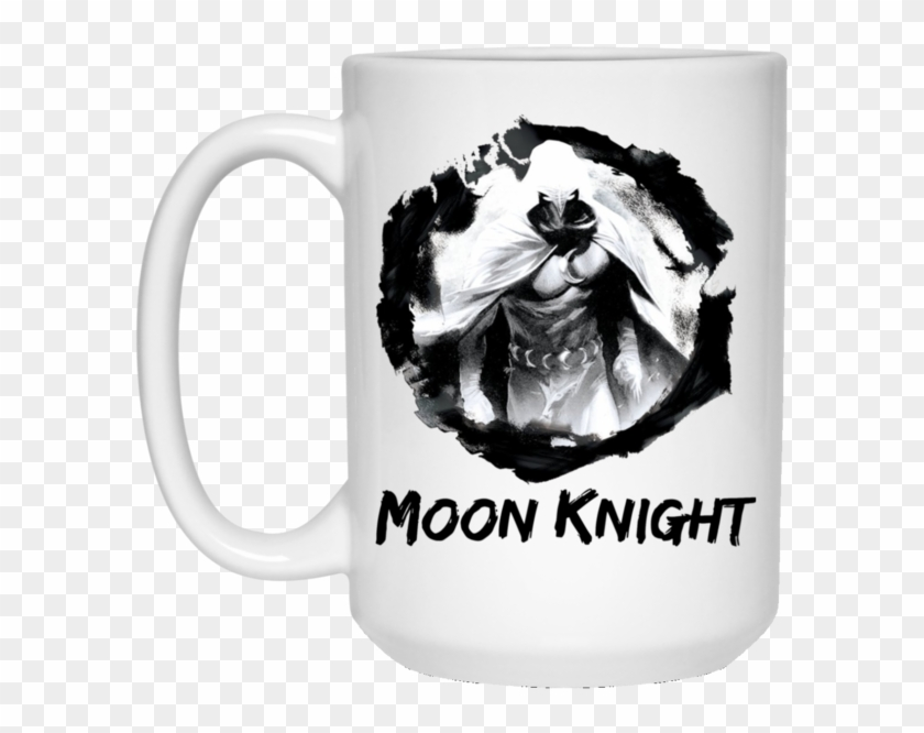 """Moon Knight Square Sticker 3"""" X 3"""" , Png Download - Moon Knight Shirt Clipart #4509924"""