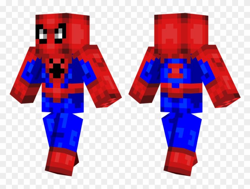 Spiderman - Minecraft Pulp Fiction Skin Clipart #4519610