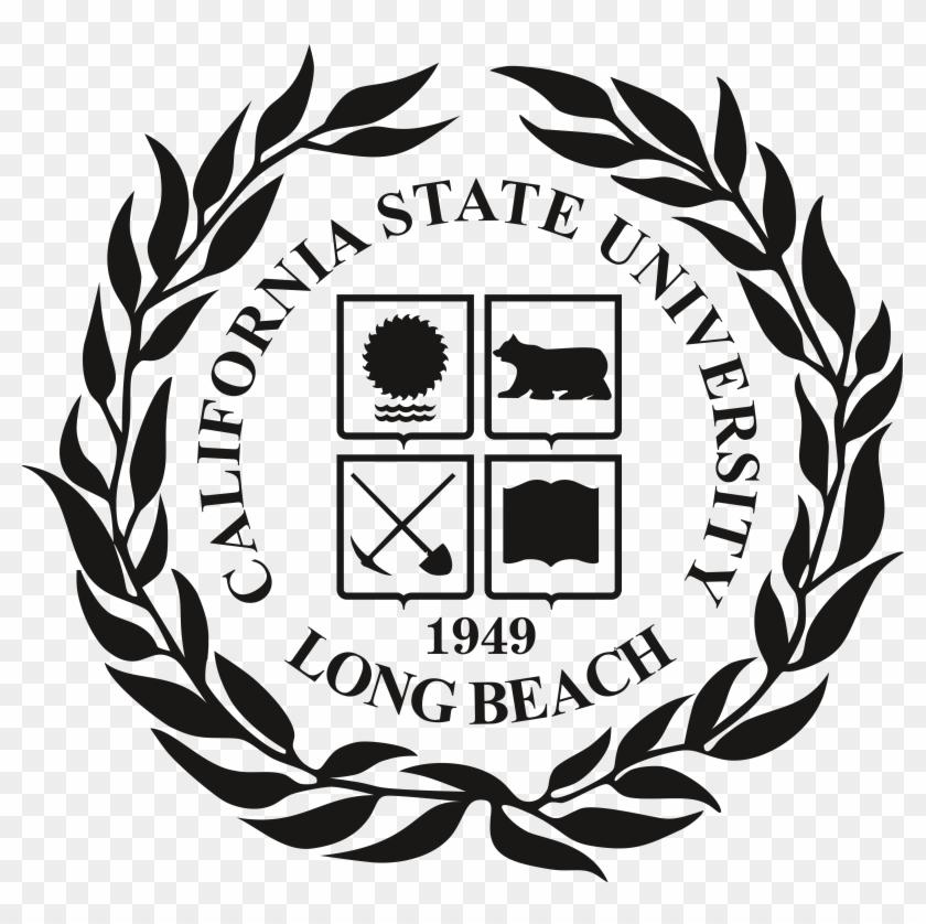California State University Long Beach - California State University Long Beach Seal Clipart #4526353