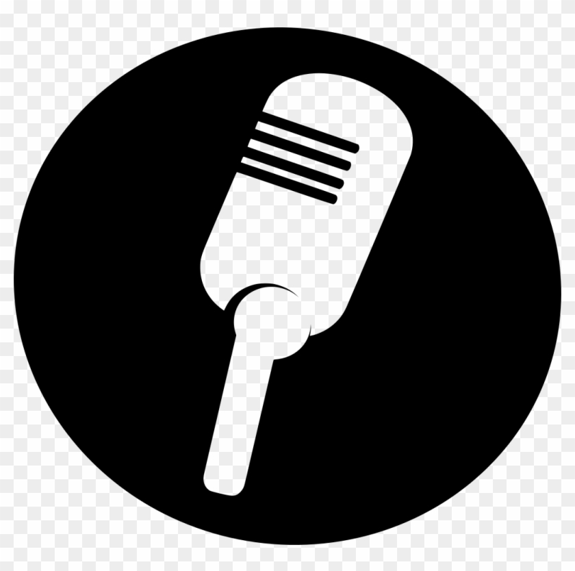 Download Png - White Microphone Clip Art Transparent Png #4530345