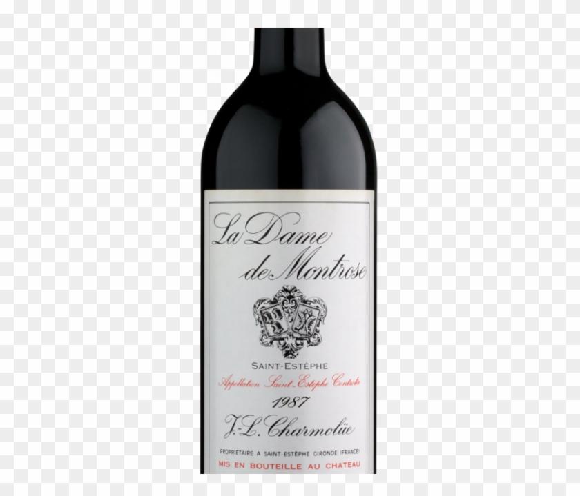 Dame De Montrose 1987 - Glass Bottle Clipart #4531211