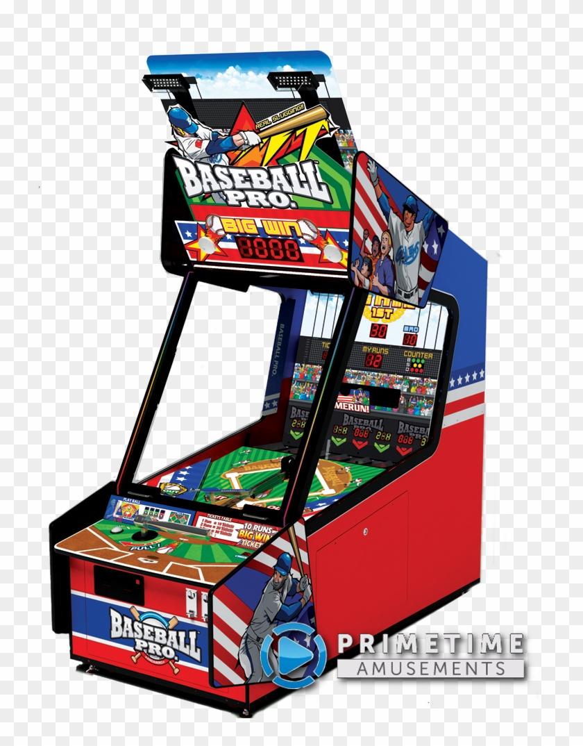 Baseball Pro Arcade Redemption Machine By Andamiro - Baseball Pro Arcade Game Clipart #4532637
