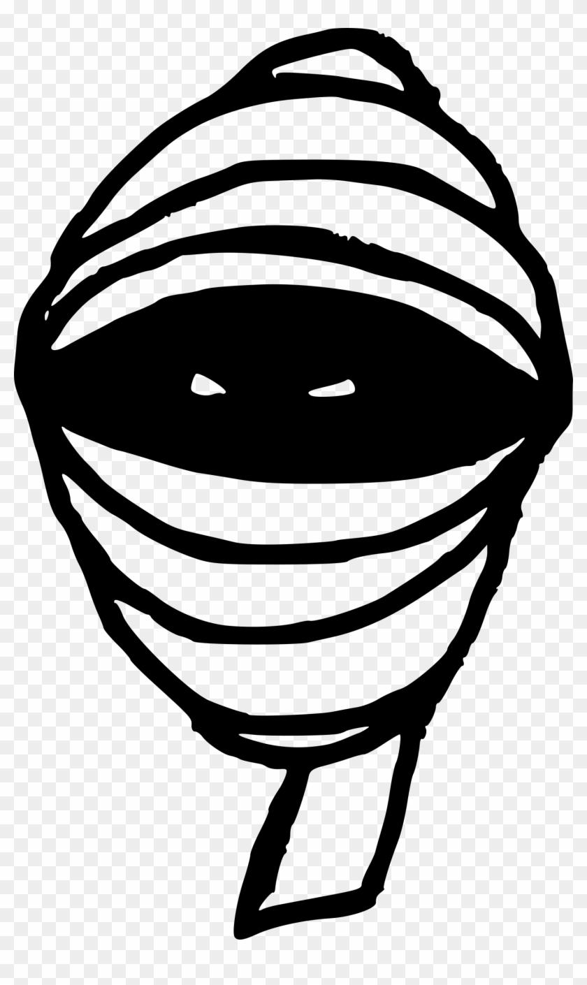 Gambar Ninja Hitam Putih Clipart 4533022 Pikpng