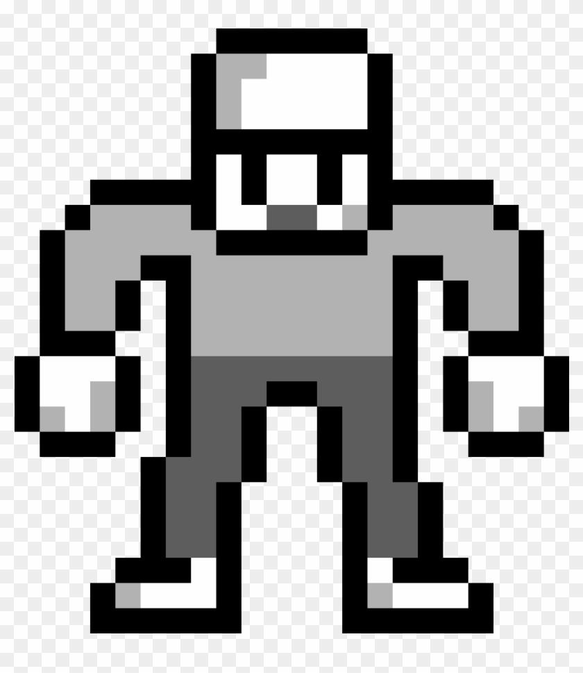 Pixel Art Burger Clipart (#4534973