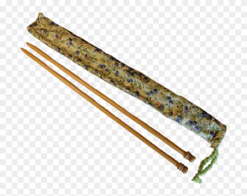 Oak Knitting Needles Ball Size 15 - Weapon Clipart #4546151