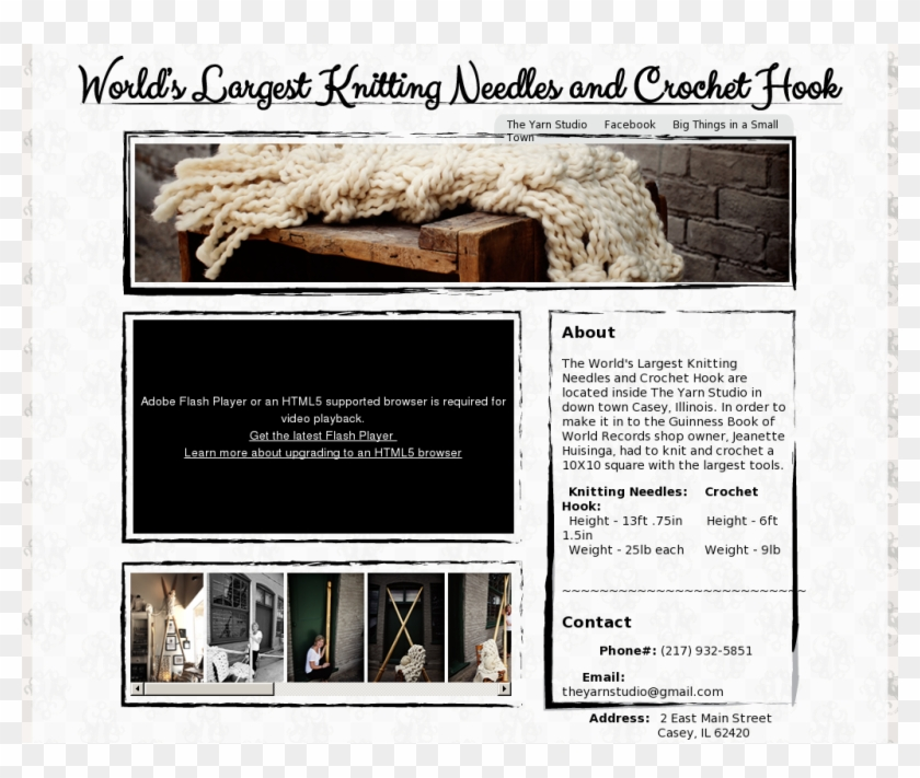 The World's Largest Knitting Needles And Crochet Hook - Architecture Clipart #4546400