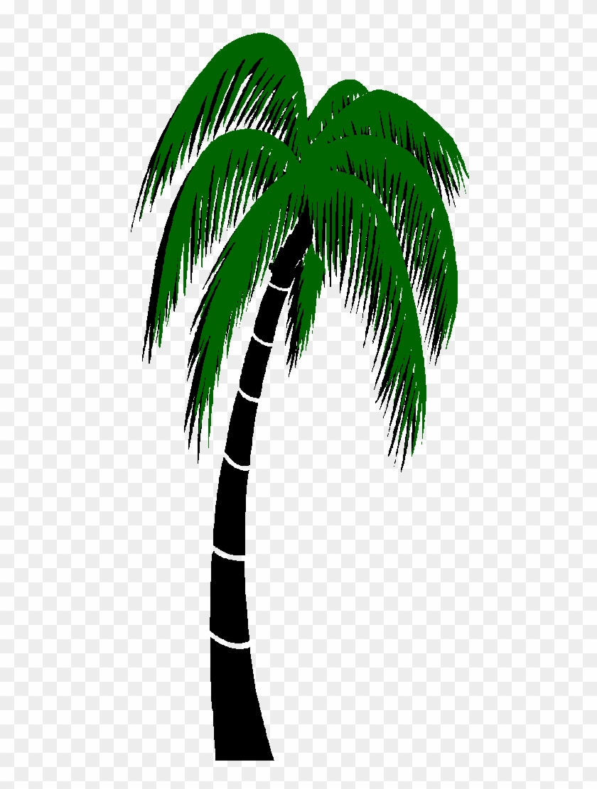 Graphics For Palm Trees Animated Graphics - Palm Tree 3d Gif Clipart #4553462
