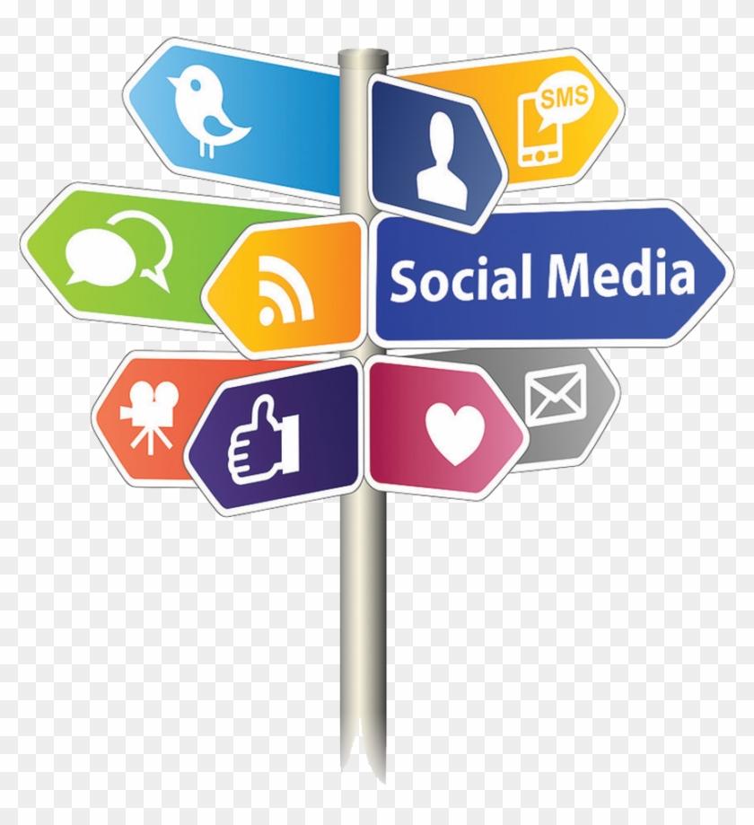 Download Png Image Report - Social Media Marketing Clipart #4556954