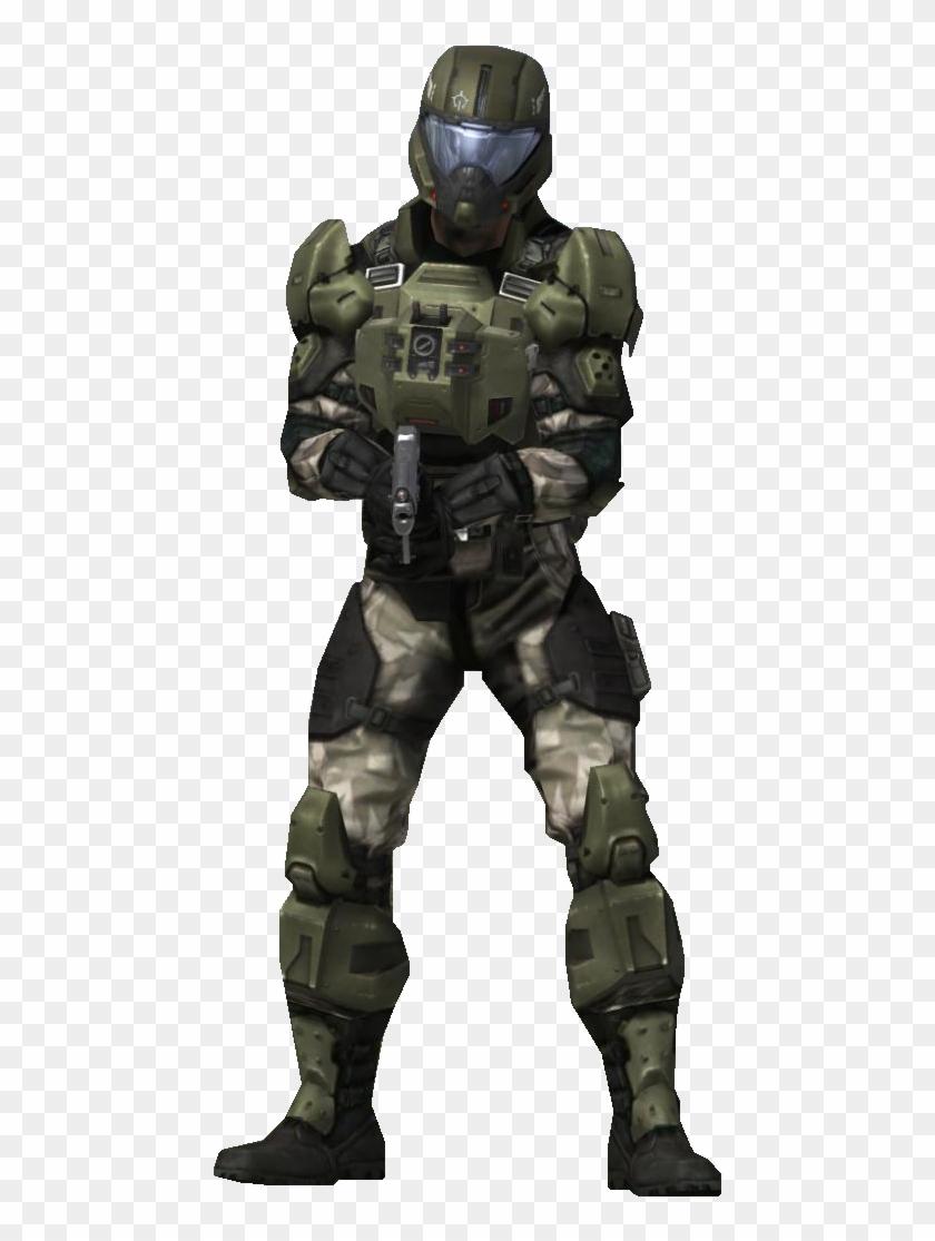 H3 Unscvtolpilot Transparent - Halo 3 Unsc Pilot Clipart #4557250