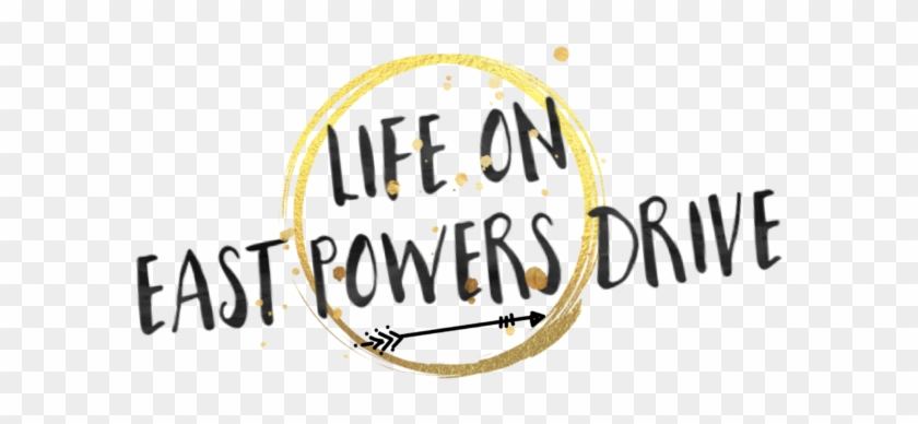 Life On E Powers Drive - Calligraphy Clipart #4558163