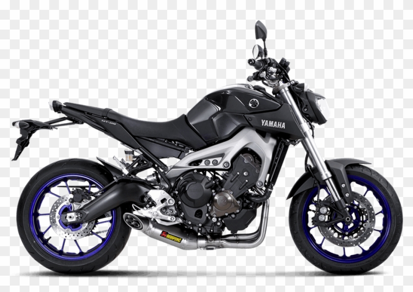 Akrapovic Shows Yamaha Fz 09/mt 09 Exhaust - Yamaha Mt 09 Akrapovic Clipart #4560405