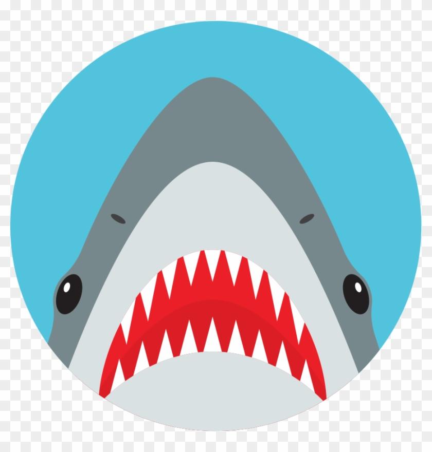 Clip Art Shark Teeth - Png Download #4573475