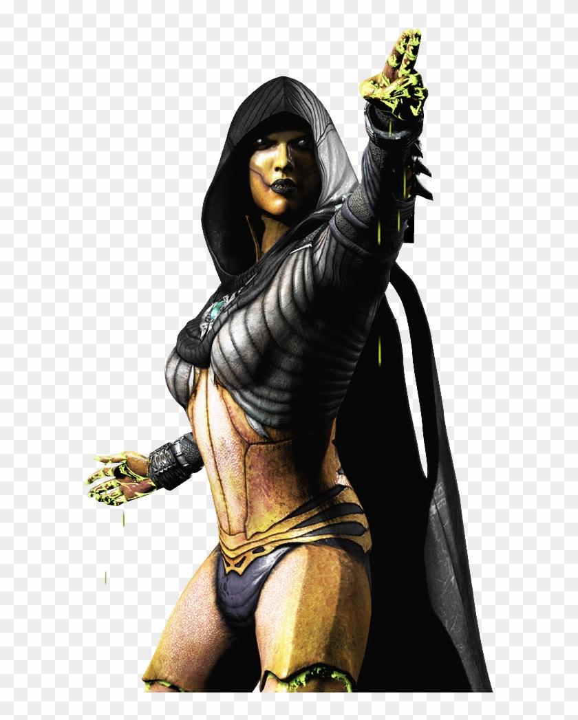 D Vorah Mkx Mortal Kombat X Primary Costume Skin Render Dvorah