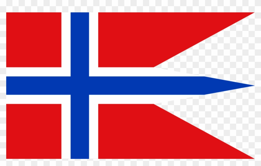 Norwegian Naval Flag Clipart #4583869