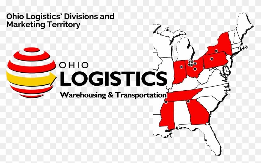 Background Image - Ohio Logistics Logo Clipart #4584375