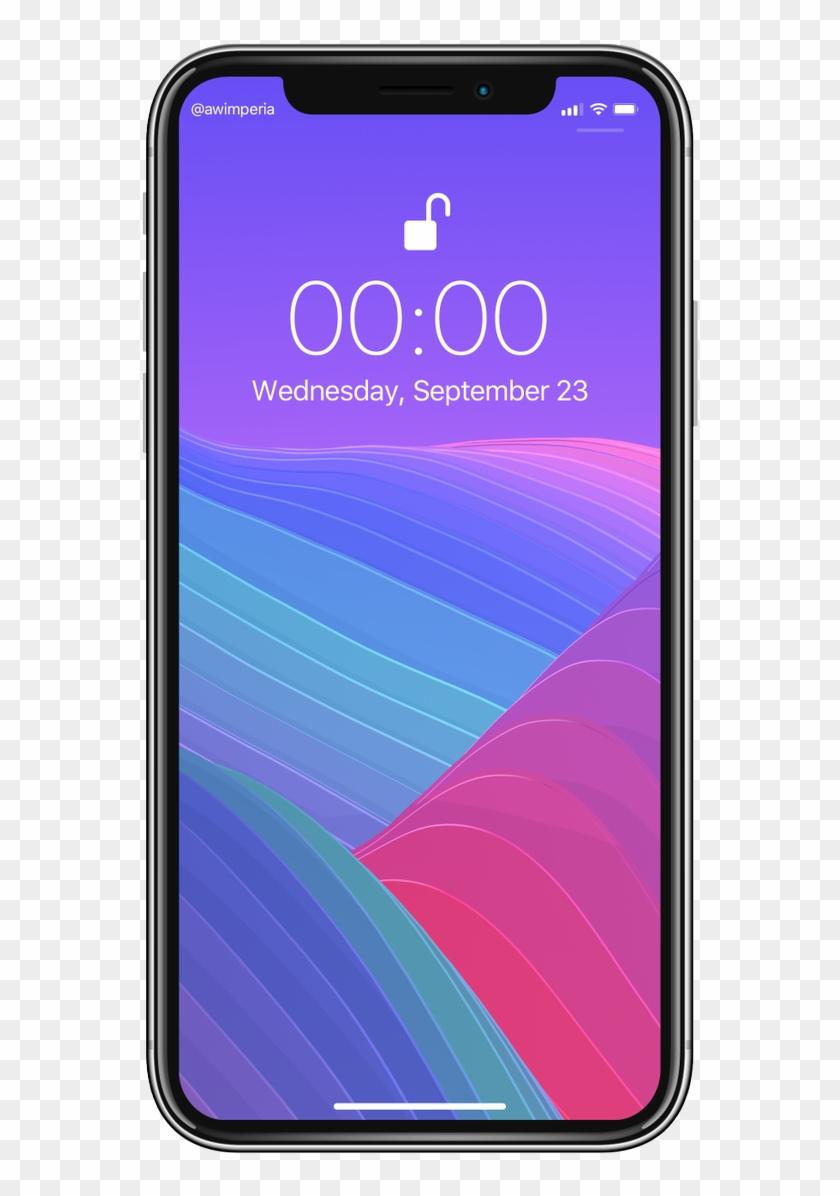 Iphone Lock Screen Png Transparent Background Iphone X Lock