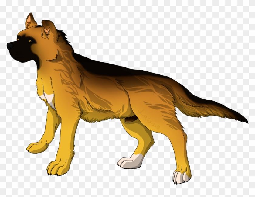 Anime Dog Png - Anime Dog Transparent Background Clipart #4595666