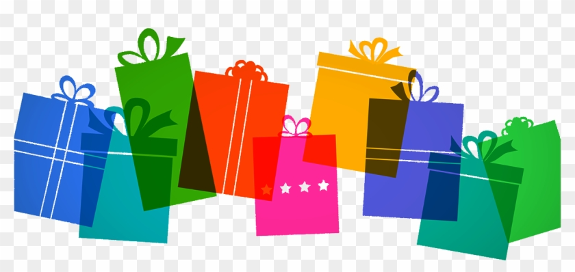 Is Gift Wrap Recyclable - Graphic Design Clipart #4596499