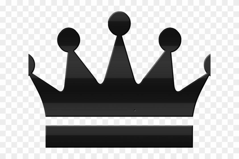 Corona Clipart Rey - King Queen Crown Silhouette - Png Download #4598642