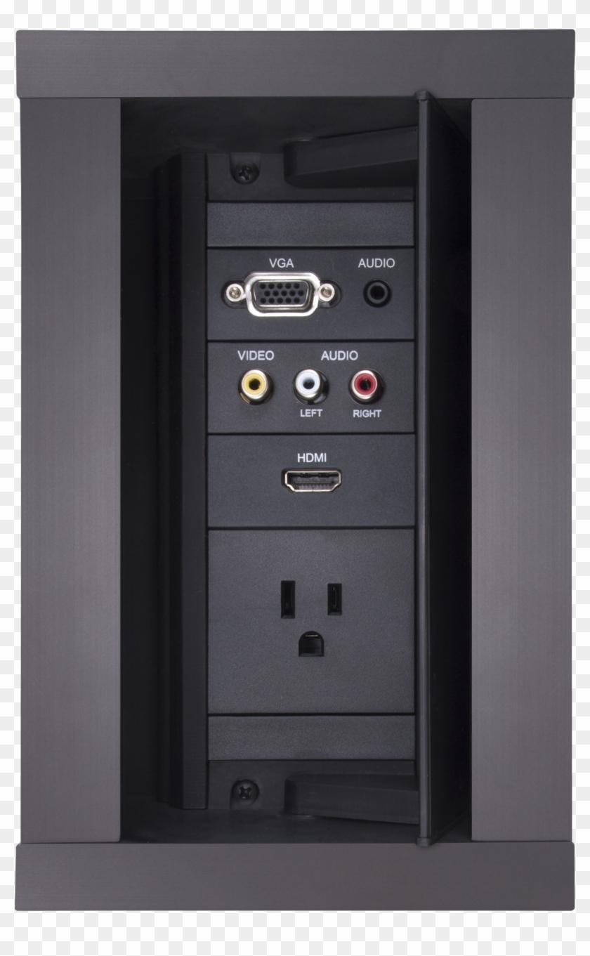 Hydraport 6 Module Connection Port - Amx Hpx 600 Clipart #4599074