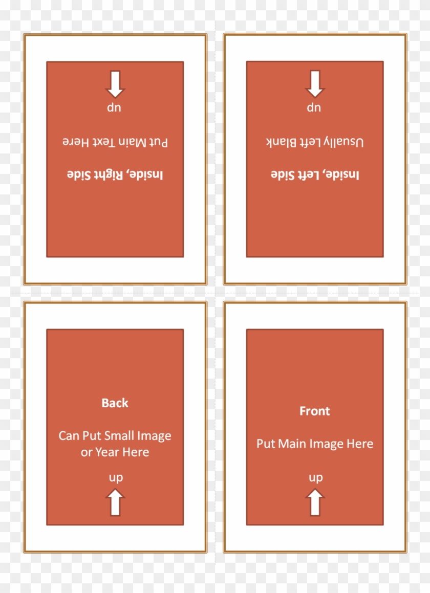 Four Fold Greeting Card Template 21 - Quarter Fold Birthday Within Quarter Fold Greeting Card Template