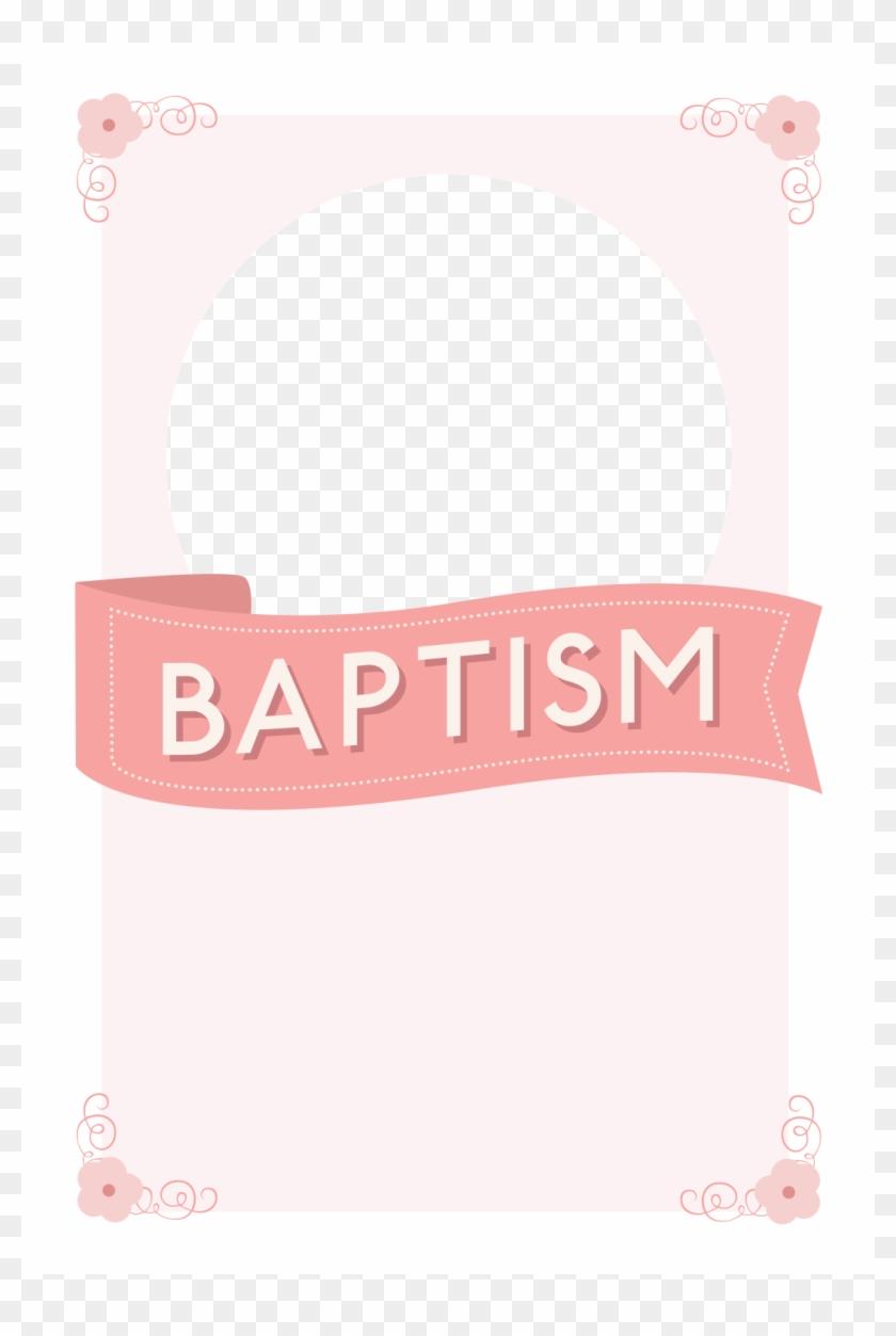 Free Printable Baptism Christening Invitation Template Baptism Ribbon Clipart Png Download 460483 Pikpng