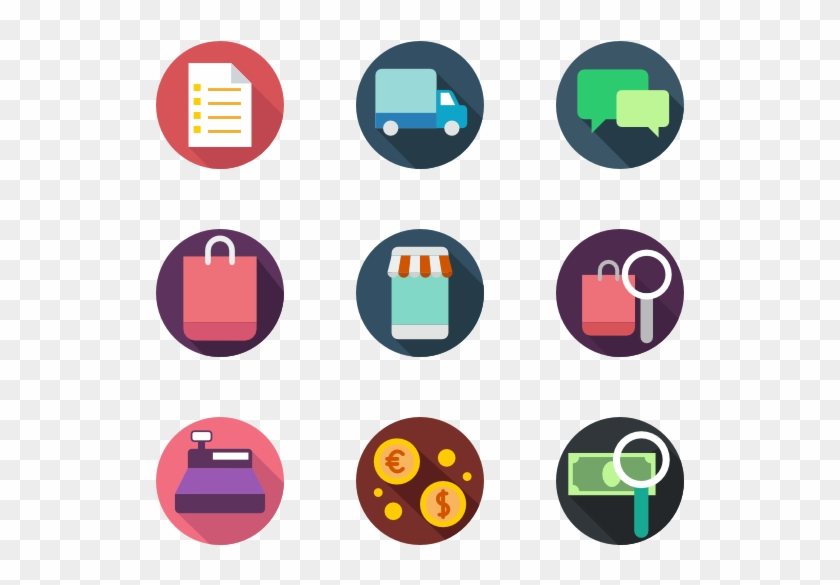 Shopping And Ecommerce Icons - E Commerce Clip Art - Png Download #464092