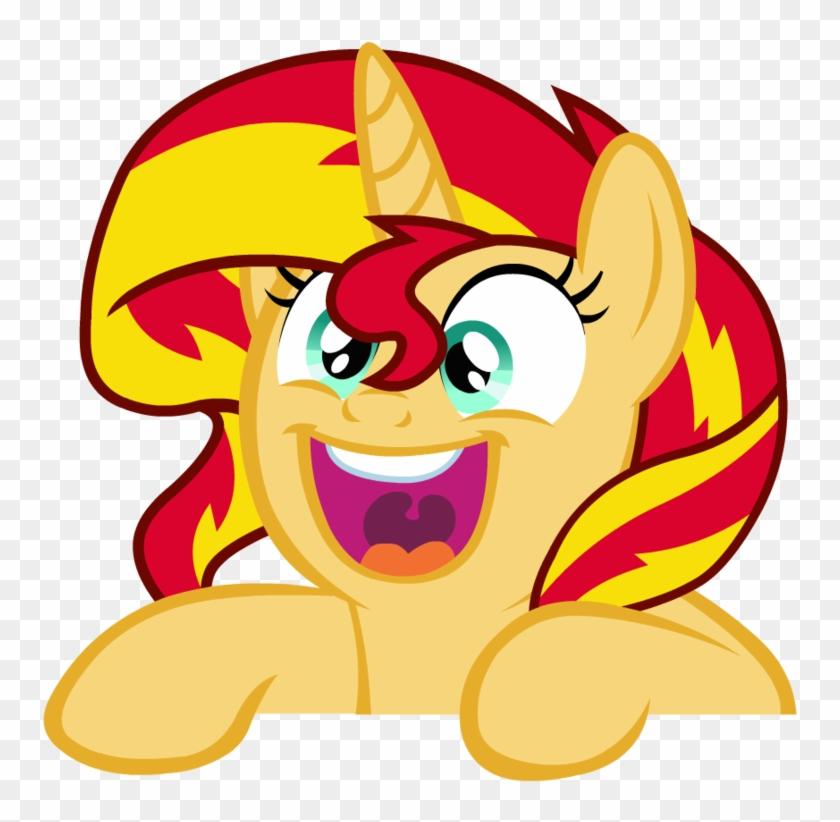 Sunset Shimmer Png Image - Sunset Shimmer Pony Face Clipart #467364