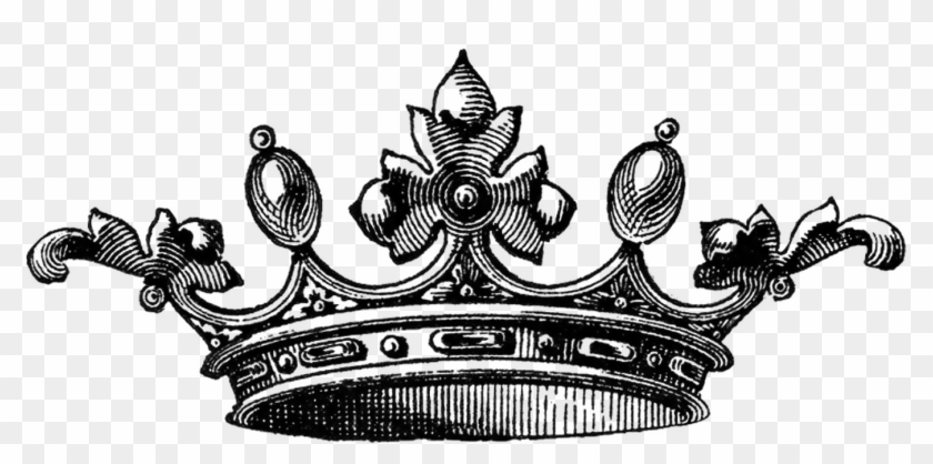 Vector Crowns Free Vector Source - Queen Drawings Of A Crown Clipart #467493