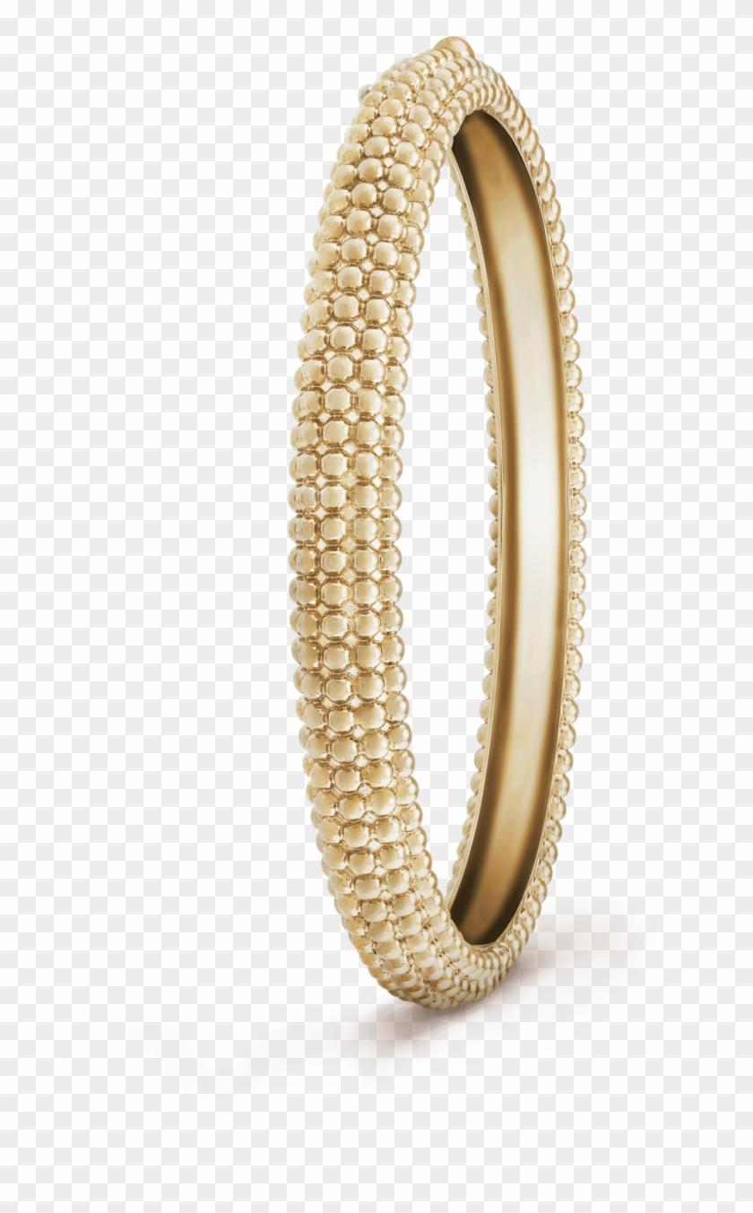 Perlée Pearls Of Gold Bracelet, 5 Rows, Medium Model - Van Cleef Pearl Bracelet Clipart #468061
