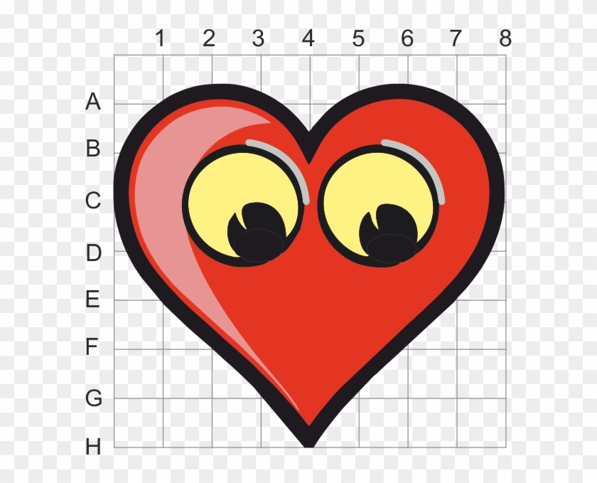 Transfer Your Design To The 3d Grid, Seen Below - Love Heart Clipart - Png Download #4601786