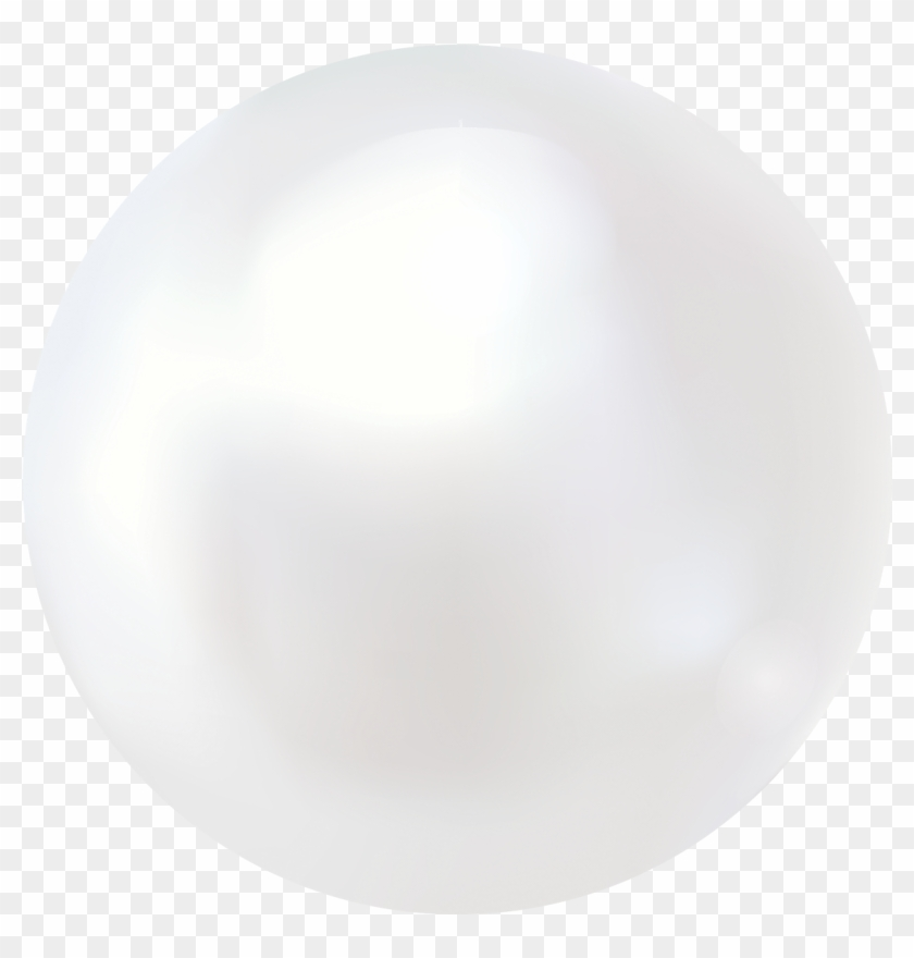 White Pearl - Circle Clipart@pikpng.com