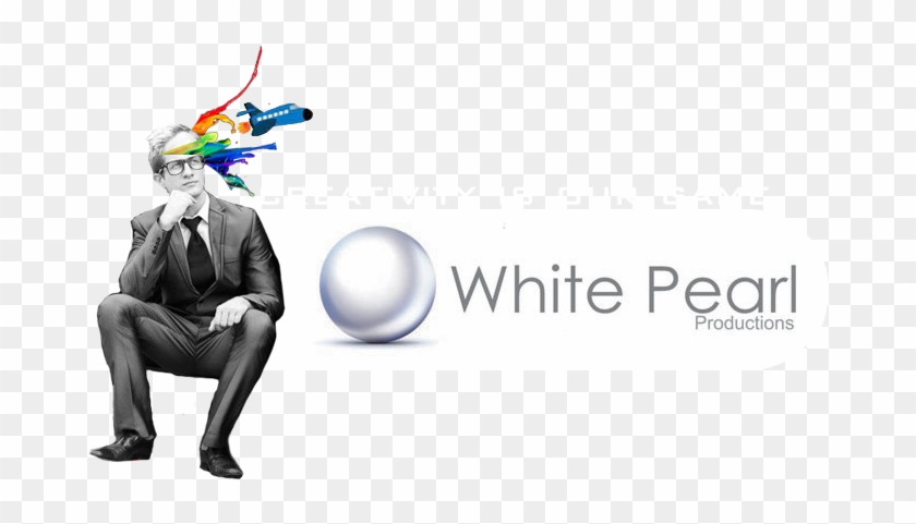 White Pearl Productions - Graphic Design Clipart #4611715
