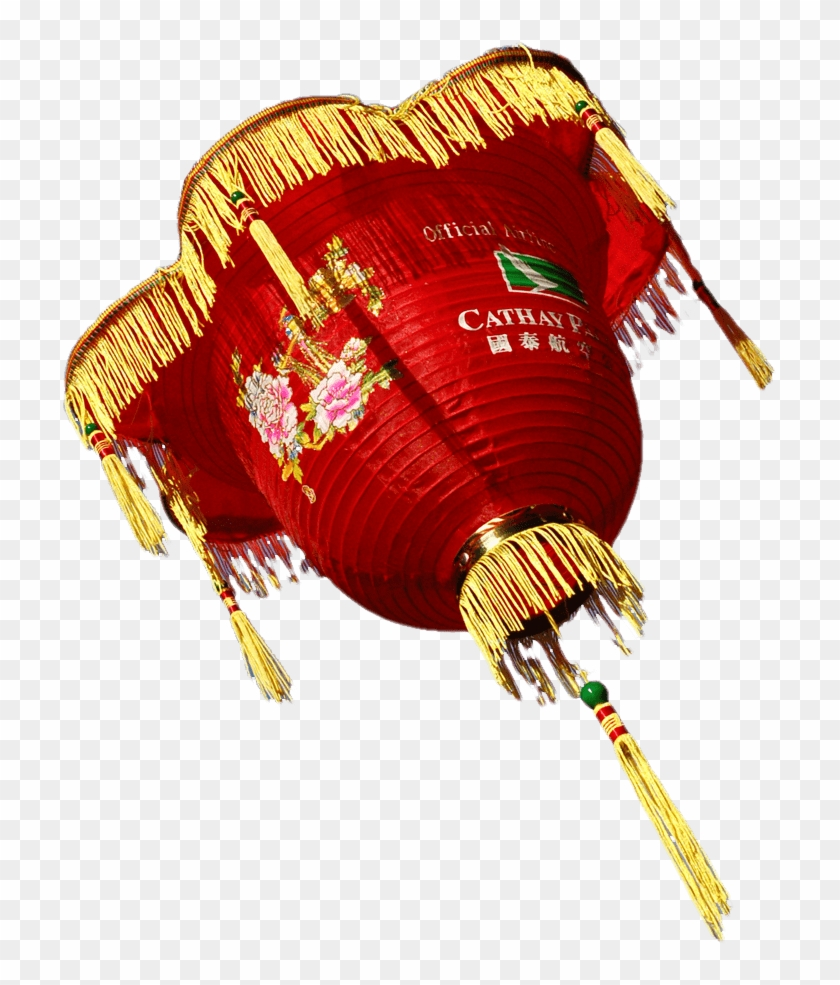 Chinese New Year Large Lantern - Transparent Png Chinese New Year Dragon Clipart #4614859
