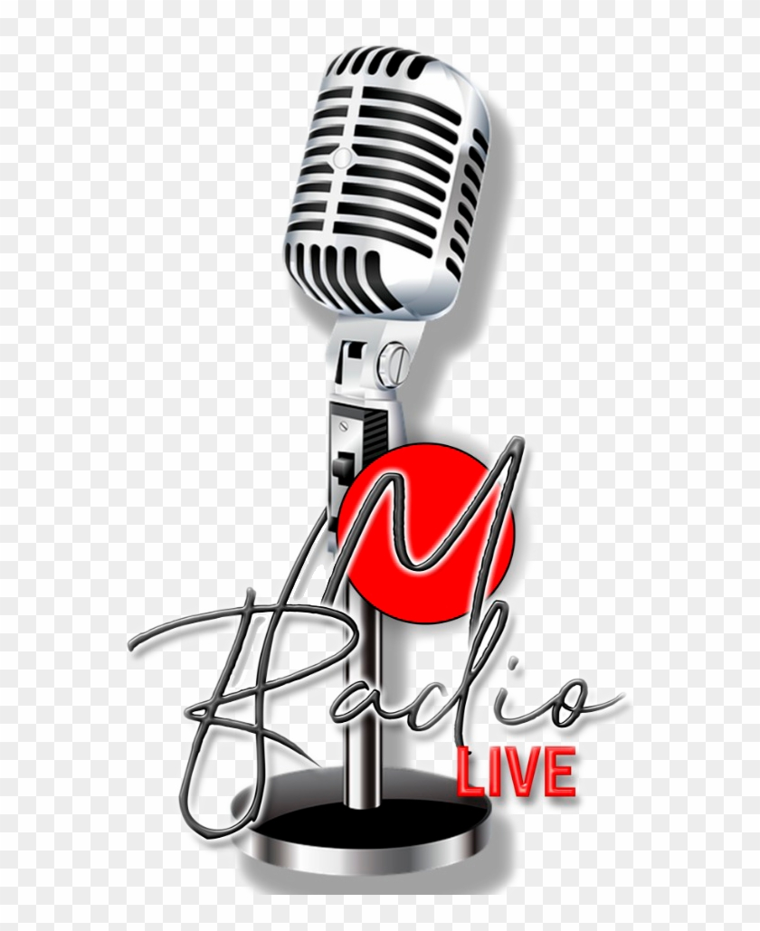M Radio - Microphone Png Clipart #4618423