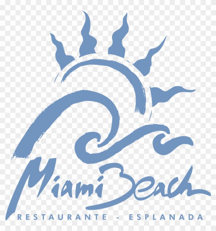 Miami Beach Logo Vector Miami Beach Clipart 4623638 Pikpng